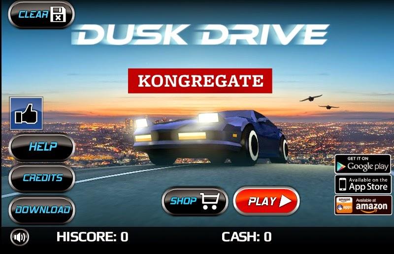 Juego  gratis de carros - Dusk Drive