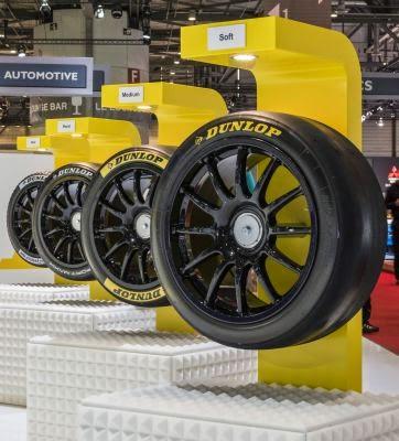 Anvelopele Dunlop pentru curse 4 BTCC la Geneva
