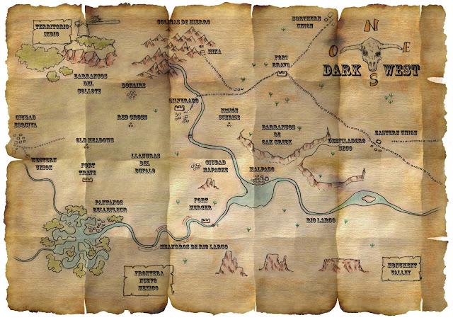 [Ayuda de juego] Mapa de Dark West