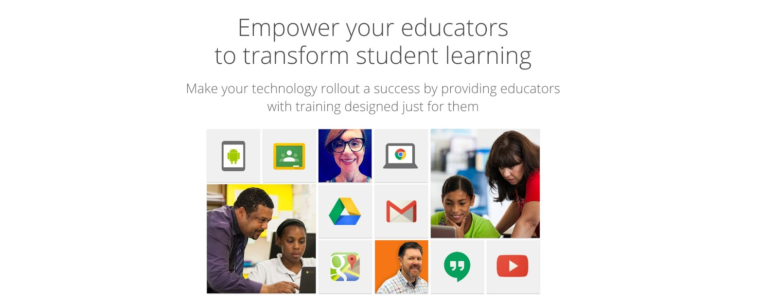 Technology education and the arts google for education google for education certification upgraded open for business xflitez Images