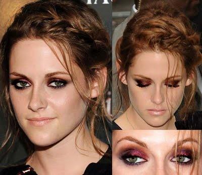 i want pretty make up color smokey eyes