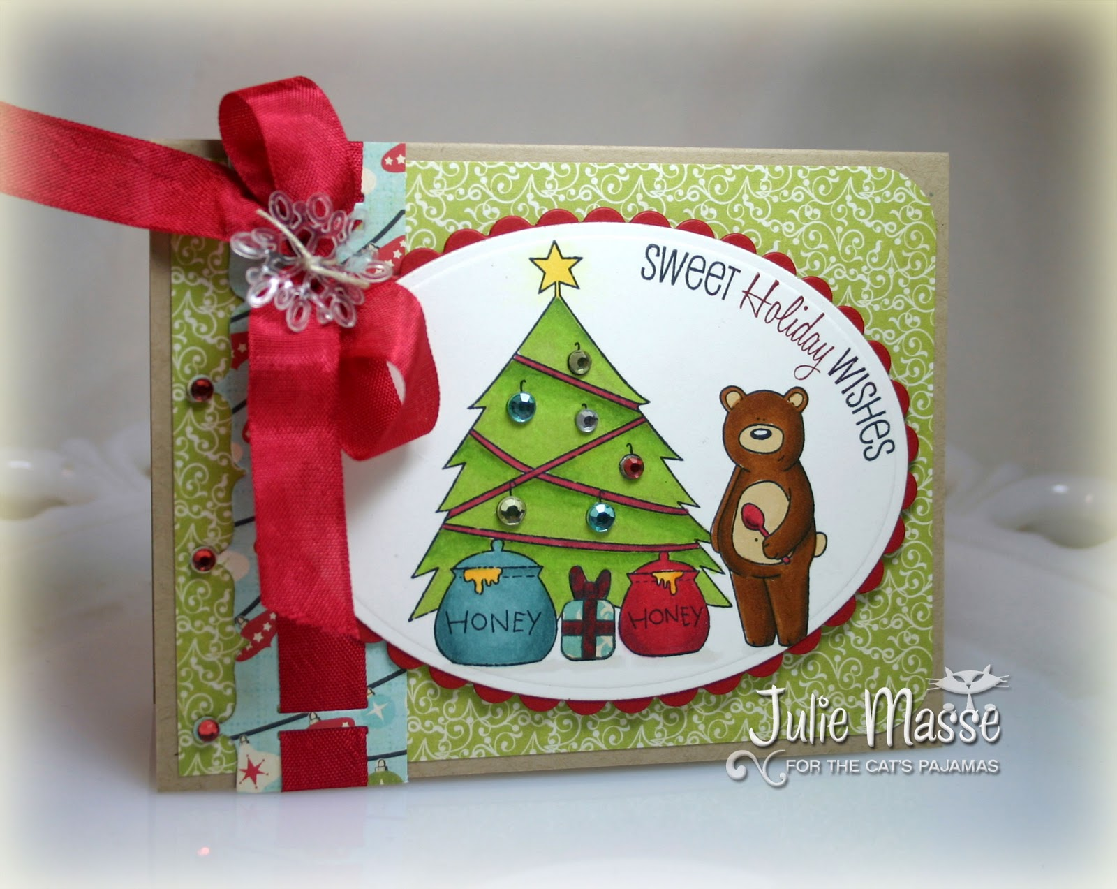 Stampin With Julie: Sneaky Peek Day 2 - Merry Christmas, Honey!