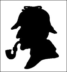 sherlock holmes black shadow icon on onequartermama.ca
