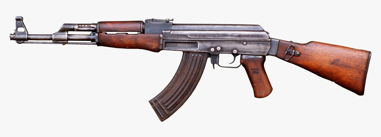 ak 47 the most used assault rifle on the face of the planet developed by the ussr