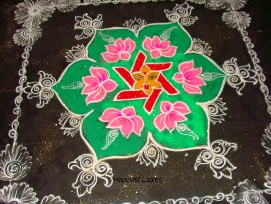 Navaratri rangoli designs