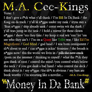 New Music: Money In Da Bank