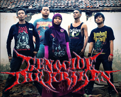 Genocide The Kraken Band Technical Death Metal Cirebon Foto personil logo font wallpaper