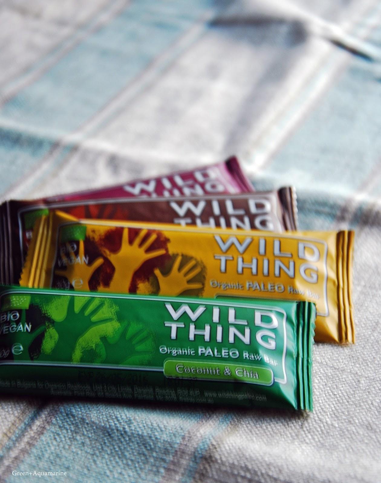 Trying the paleo organic and vegan Wild Thing bars. Via @eleanormayc