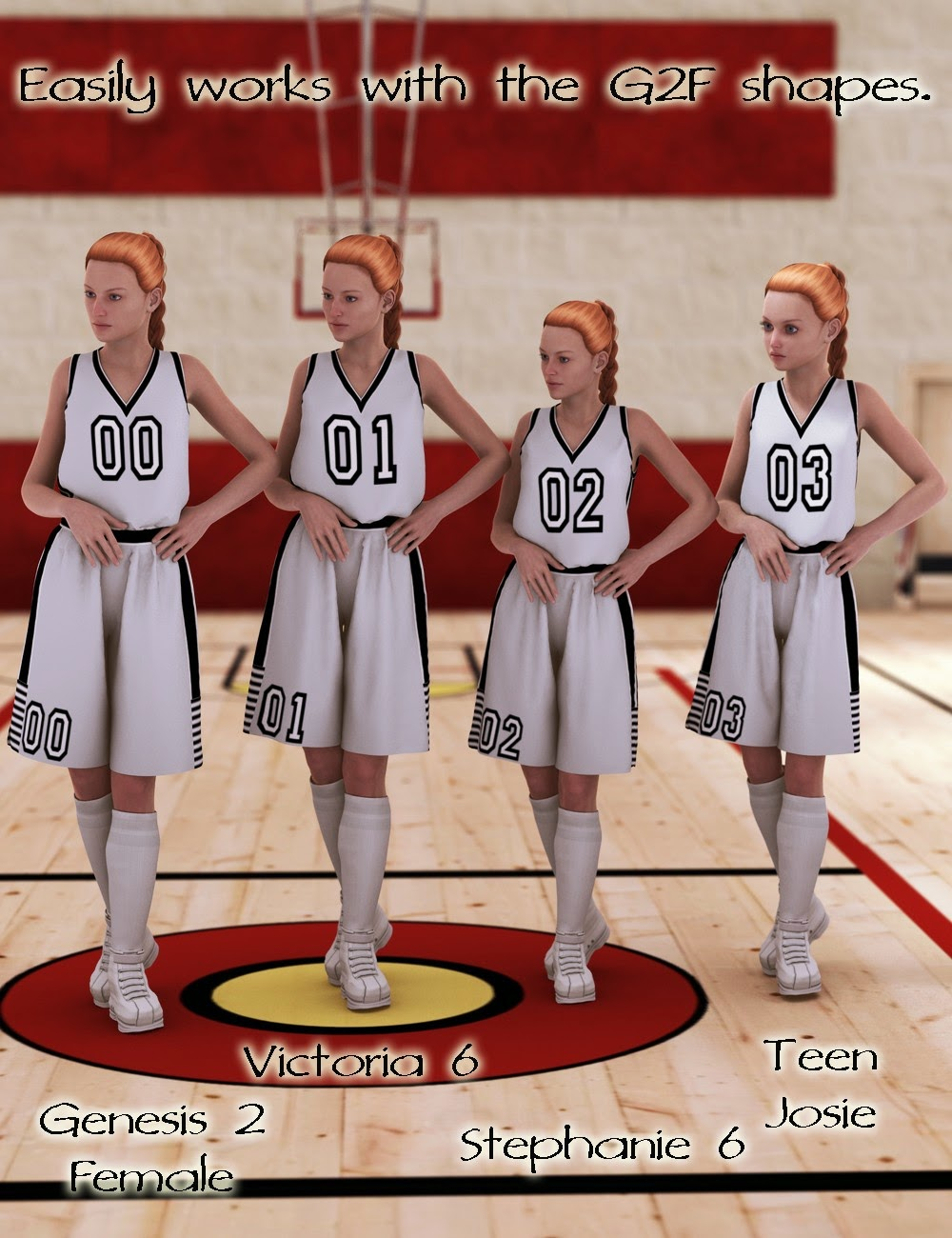 Athletics: Basketball for Genesis 2 Female