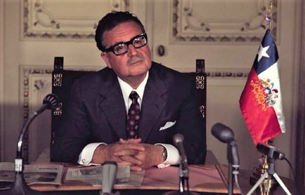 1908 -26 JUIN- 2019  <br>ANNIVERSAIRE DE LA NAISSANCE DE SALVADOR ALLENDE