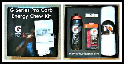 Gatorade G Series Pro Carb Energy Chew Kit