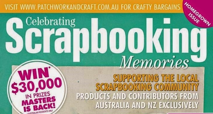 PUBLISHED :- 'SCRAPBOOKING MEMORIES' VOL. 17 NO.3