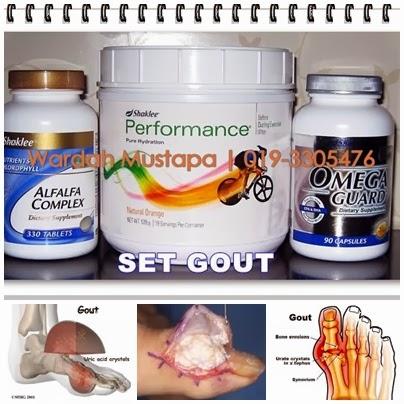 Anda Gout?Cubalah yang semulajadi