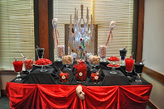 Buffets para Halloween, Mesas para Fiesta