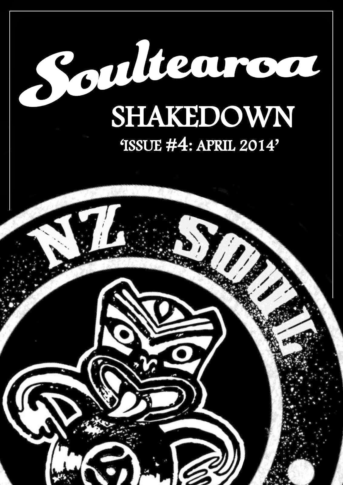 Soultearoa Shakedown fanzine