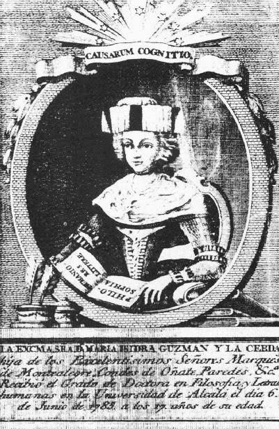 María de Guzmán. Necrológica
