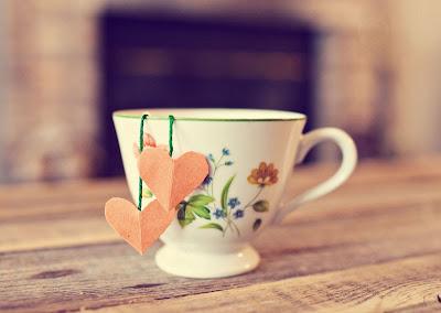 Saquinho de chá feito em casa passo a passo