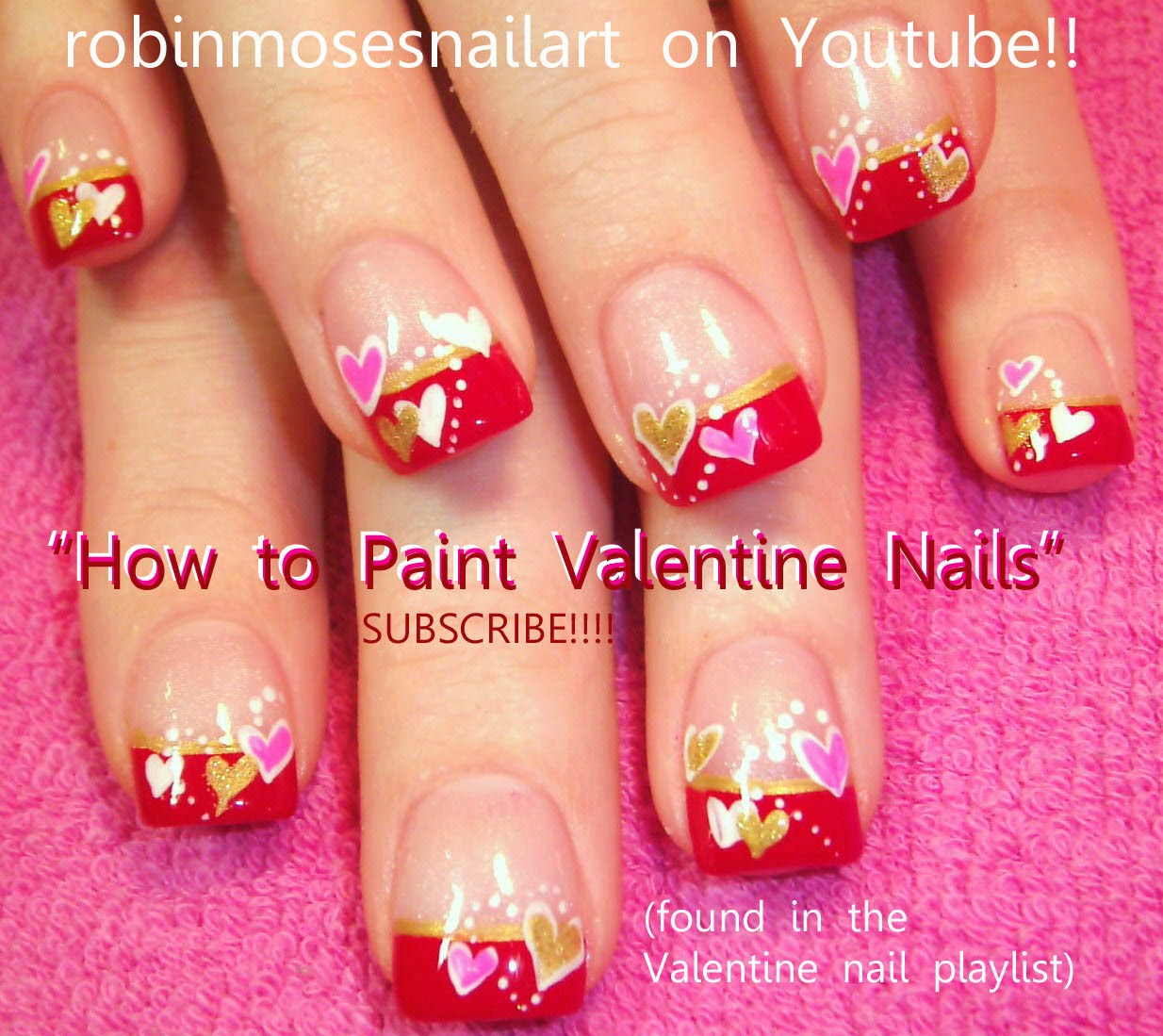 Robin moses nail art valentine nails cute valentine nails dead cupid nail art valentine nails to learn here valentine playlist prinsesfo Images