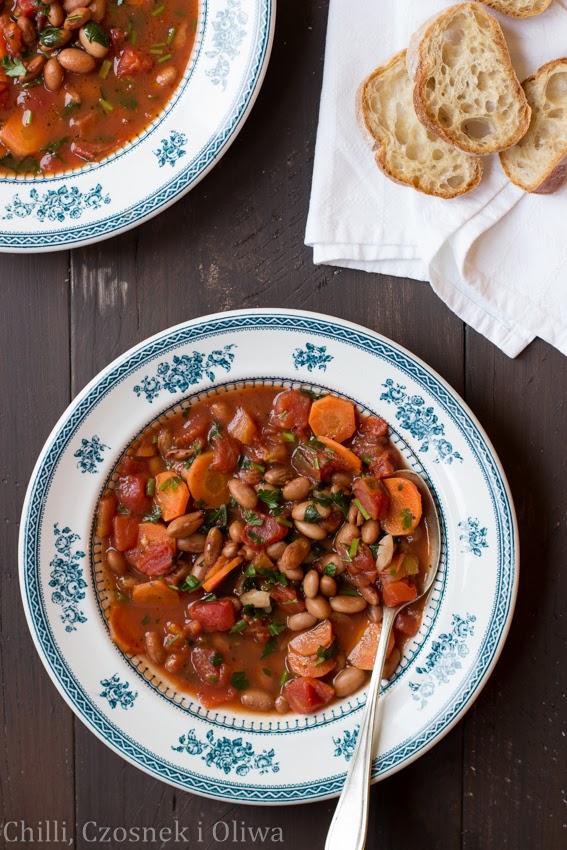 zupa z fasola wloska
