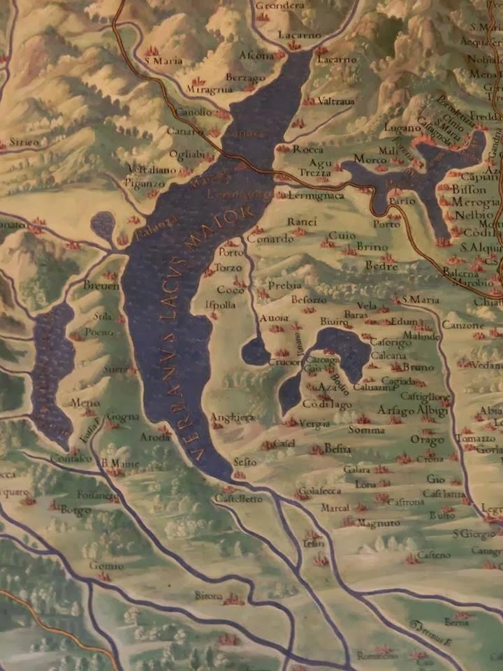 Azzate e i bossi azzate nella galleria delle carte geografiche in musei vaticani particolare del varesotto thecheapjerseys Choice Image
