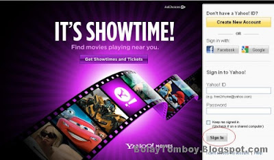 Cara Mengganti Password Yahoo Mail