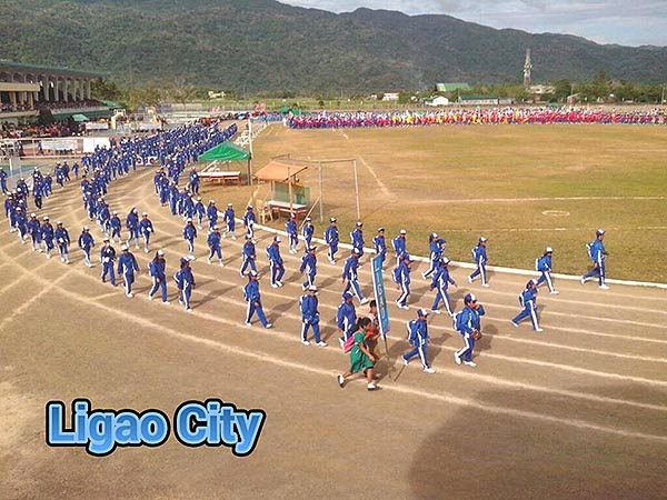 Palarong Bicol 2014 Ligao City Delegation