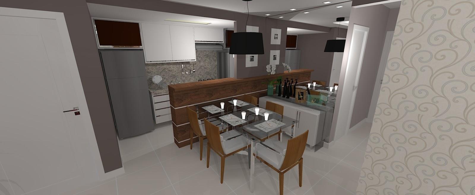 Pruzak Com Cozinha Pequena Sala De Jantar Id Ias Interessantes  -> Cozinha Integrada Com Sala De Jantar Pequena