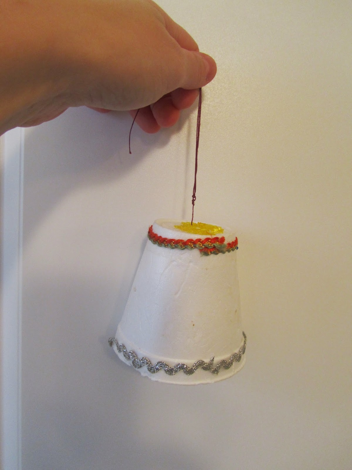 livin u0027 life with style diy christmas bell ornament for kids