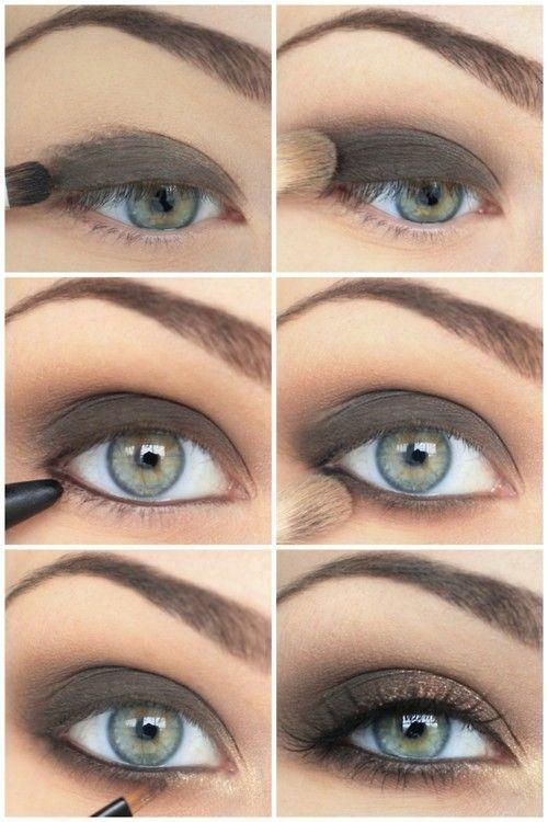 Как сделать смоки айс для серых глаз