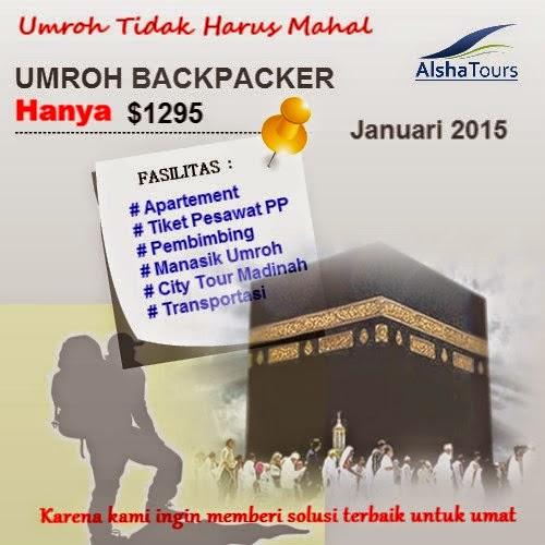 biaya Paket Umroh Backpaker bersama Keluarga murah