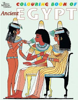 Colouring book of ancient Egypt