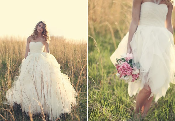 2 in 1 Ball Gown Wedding Dress in Real