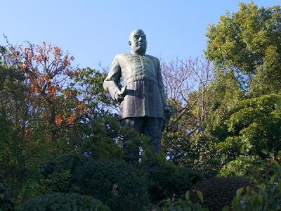 Saigo Takamori, Kagoshima, Kyushu, Japan