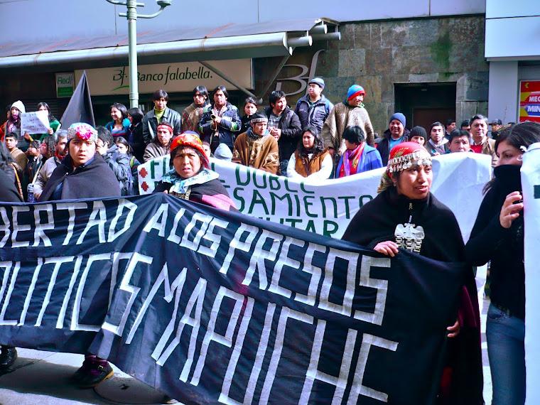 ¡MARICHIWEU! SER SOLIDARIOS CON LOS WEYCHAFE (GUERREROS) MAPUCHE EN SUS 45 DÍAS EN HUELGA DE HAMBRE