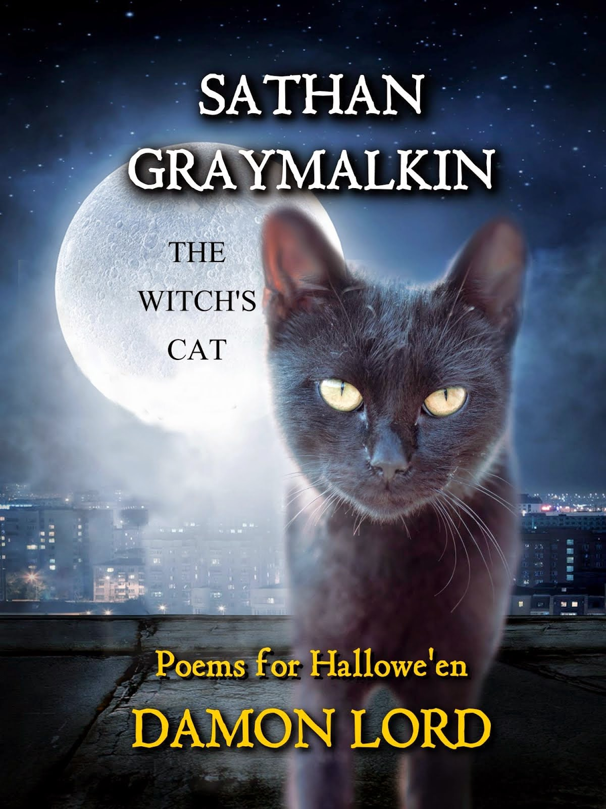 Sathan Graymalkin the Witch's Cat