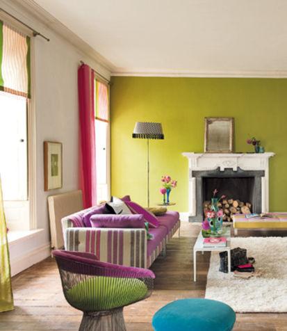 Cheap home art keep calm and choose a colour for Parete colorata salotto