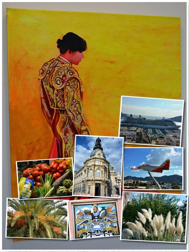 Collage Cartagena Spain