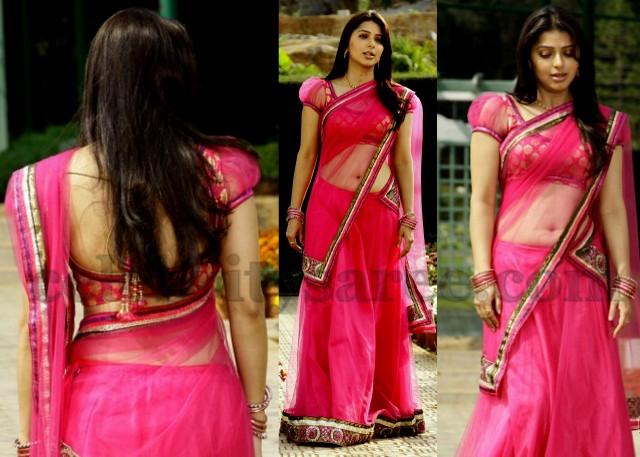 Bhumika Chawla Rich Half Saree