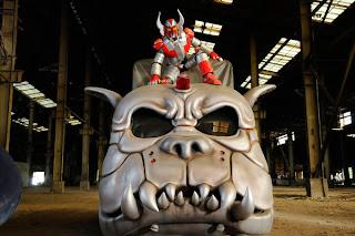 Karate Robo Zaborgar hero pic