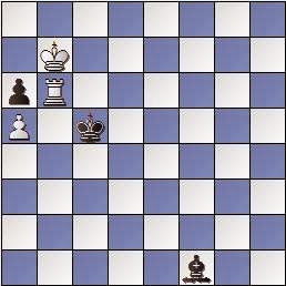 Estudio de ajedrez de Creassey Edward Cecil Tarttesal, The British Chess Magazine, 1909