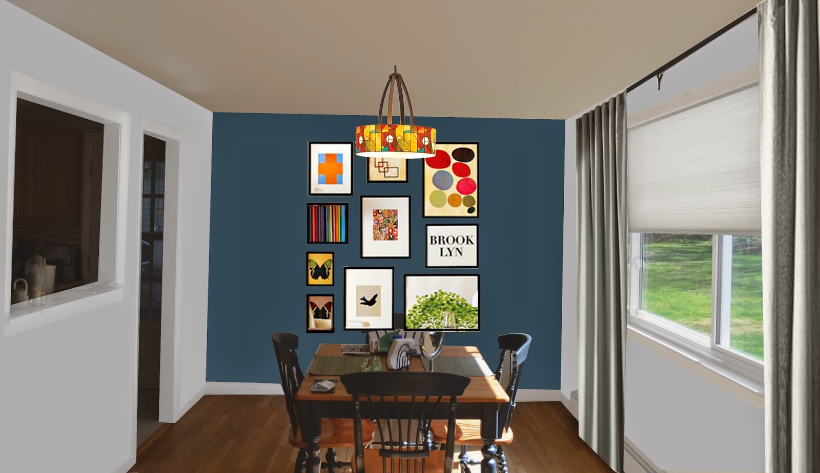 Living Room Dining Paint Colors