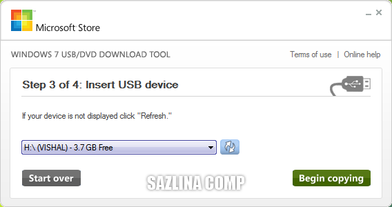 Cara Membuat Windows 7 Live USB Flash Disk