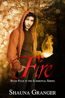 Cover Reveal: Fire by Shauna Granger