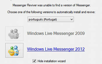 Como reativar o MSN Messenger - MSN Reviver