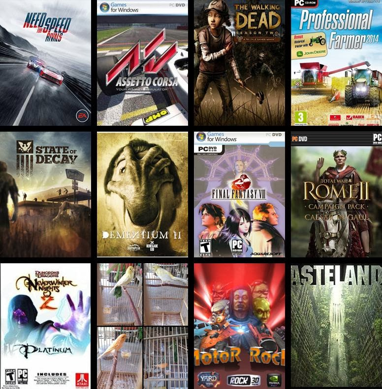 Need For Speed Rivals + UPDATE 1.3.0.0 Total War ROME 2 Caesar in Gaul include 5DLC Neverwinter Nights 2 Complete Edition  Professional Farmer 2014 Rise of Venice + Beyond the Sea DLCSilent Hill Homecoming