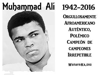 Descanse en paz Muhammad Ali