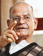Ex-telecom minister Sukh Ram speaks to Pramod Kumar in an interview