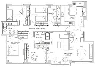 Infortecnoloxia plano distribucion en planta 2 - Planos casas de lujo ...