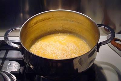 Risotto arancia e brie 5