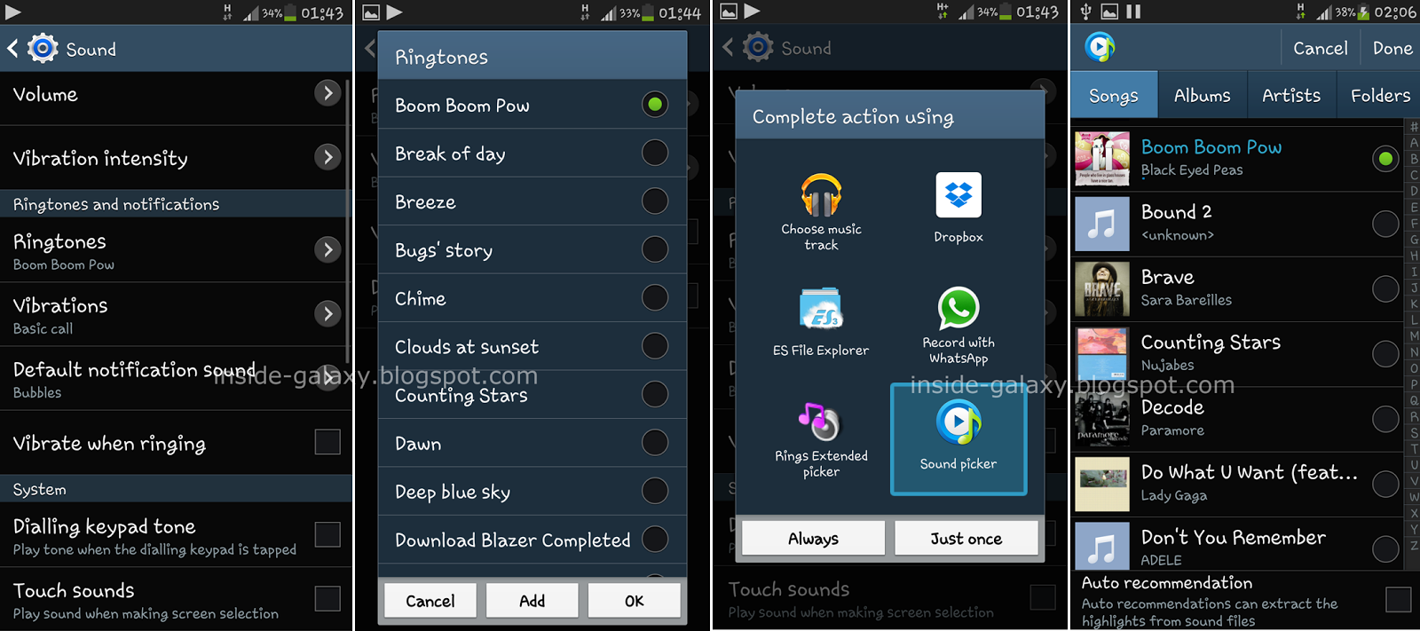 Galaxy S4 Contact Ring While On Silent Android Forums At